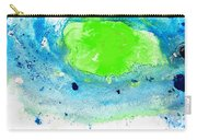 Green Blue Art - Making Waves - By Sharon Cummings Carry-all Pouch