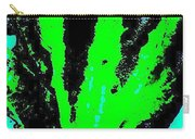 Green Blue Plant Abstract Carry-all Pouch