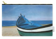 Green Boat Blue Skies Carry-all Pouch