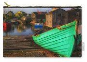 Green Boat Peggys Cove Carry-all Pouch
