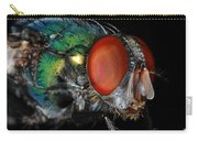 Green Bottle Fly Carry-all Pouch
