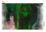 Green Bottle Photo Art Carry-all Pouch