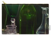 Green Bottle Carry-all Pouch