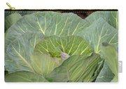 Green Cabbage Carry-all Pouch