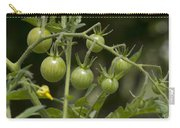 Green Cherry Tomatoes On The Vine Carry-all Pouch