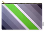 Green Chevron Carry-all Pouch