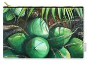 Green Coconuts  3  Sold Carry-all Pouch