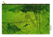 Green Color Sigh Carry-all Pouch