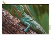 Green Crested Basilisk Carry-all Pouch