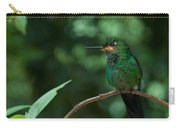 Green-crowned Brilliant Carry-all Pouch
