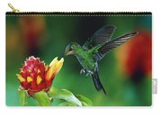 Green-crowned Brilliant Heliodoxa Carry-all Pouch