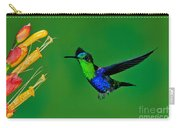Green-crowned Woodnymph Carry-all Pouch