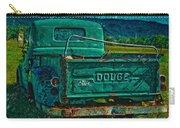 Green Dodge Carry-all Pouch