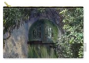 Green Door Carry-all Pouch by Terry Reynoldson