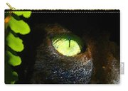 Green Eyed Black Cat Carry-all Pouch