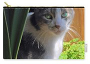 Green Eyed Cat Carry-all Pouch