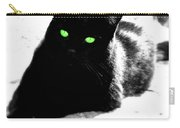 Green Eyed Kitty Carry-all Pouch