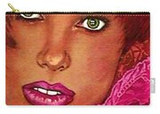 Green Eyed Redhead Carry-all Pouch