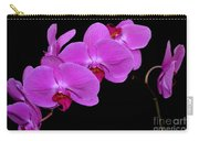 Green Field Sweetheart Orchid No 2 Carry-all Pouch
