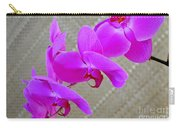 Green Field Sweetheart Orchid No 3 Carry-all Pouch