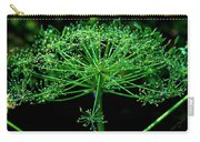 Green Frills II Carry-all Pouch