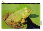 Green Frog 2 Carry-all Pouch