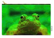 Green Frog Poster Carry-all Pouch