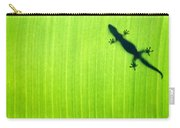Green Gecko Leaf Carry-all Pouch