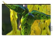 Green Glass Leaves Carry-all Pouch