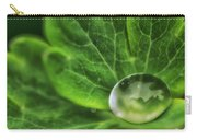Green Globe Carry-all Pouch