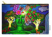 Green Goddess With Waterfall Carry-all Pouch