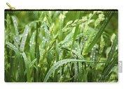 Green Grass After Rain Carry-all Pouch