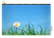 Green Grass And A Flower Carry-all Pouch