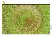 Green Grass Swirled Carry-all Pouch