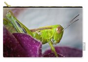 Green Grasshopper I Carry-all Pouch
