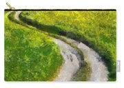 Green Green Grass Of Home Carry-all Pouch