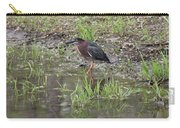 Green Heron Along Shore Carry-all Pouch