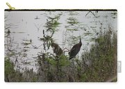 Green Heron At The Pond Carry-all Pouch