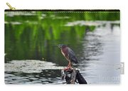 Green Heron Perch Carry-all Pouch