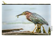 Green Heron Perfection Carry-all Pouch