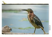 Green Heron Tongue Carry-all Pouch
