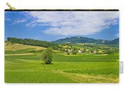 Green Hills Nature Panoramic View Carry-all Pouch