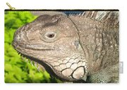 Green Iguana Face Carry-all Pouch