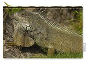 Green Iguana Guayaquil Ecuador Carry-all Pouch