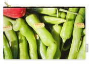 Green Jalpeno Peppers Carry-all Pouch