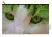 Green Kitten Carry-all Pouch