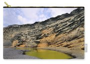 Green Lagoon On Lanzarote Carry-all Pouch