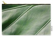 Green Leaf Up Close 2 Carry-all Pouch