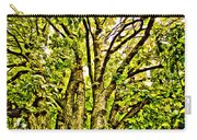 Green Leafy Trees Carry-all Pouch