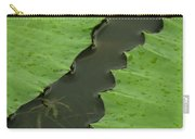 Green Leaves Series  4 Carry-all Pouch